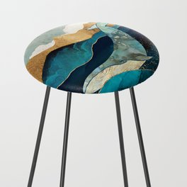 Blue Whale Counter Stool
