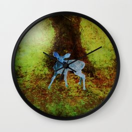 Little Lost Fawn. Wall Clock