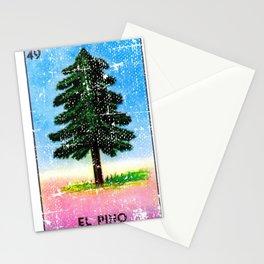 El Pino Mexican Loteria Bingo Card Stationery Cards