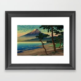 Shinehi at the Magic Hour Framed Art Print