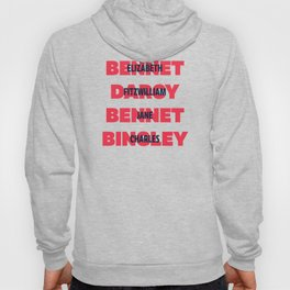 First and Last Names Pride and Prejudice Hoody