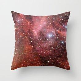 Stellar Spiral, Eagle Nebula. Richard Feynman Throw Pillow