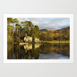 Friars Crag The English Lakes Art Print
