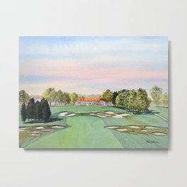 Bethpage State Park Golf Course Metal Print
