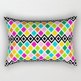 DIAMOND - White Rectangular Pillow