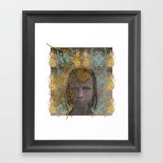 Berber girl Framed Art Print