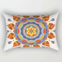 Mandala Flower Design Rectangular Pillow