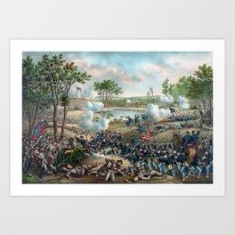 Battle of Cold Harbor Art Print