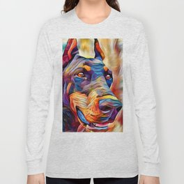 Doberman 2 Long Sleeve T-shirt