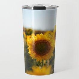 Sunflower's Season (II) Travel Mug