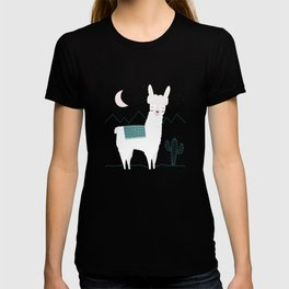Alpaca In The Mountains T-shirt
