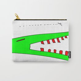 alligator and mosquito Carry-All Pouch