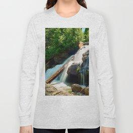 Peaceful Waterfall Long Sleeve T-shirt
