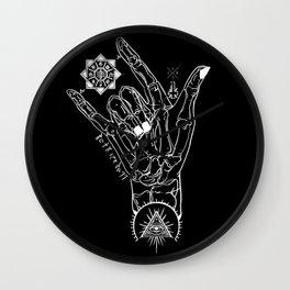 Rock On Hombre Wall Clock