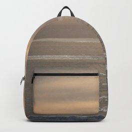 Shimmering Ocean Sunset Backpack