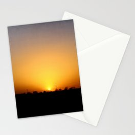Sunset 032417 Abilene, Texas Stationery Cards