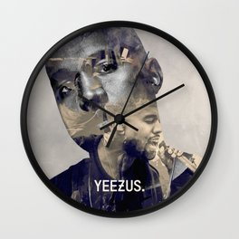 YEE ZUS - the only rapper compared to michael Wall Clock