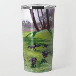 John Singer Sargent Landscape with Goatherd Travel Mug