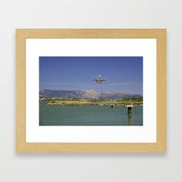 Corfu Take Off Framed Art Print