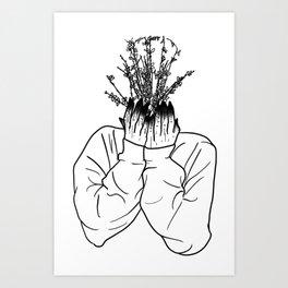 sadness obsession Art Print