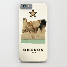 Oregon state map modern Slim Case iPhone 6