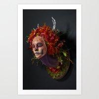 Summer Muertita Side Art Print