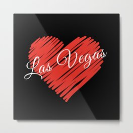LOVE LAS VEGAS Metal Print