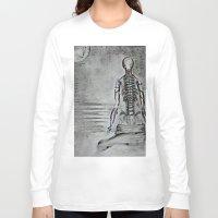 swim Long Sleeve T-shirts featuring swim by Maithili Jha