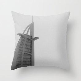 Burj-al-Arab Throw Pillow