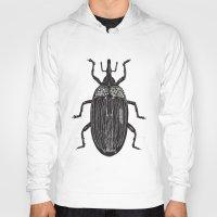 beetle Hoodies featuring Beetle by Najla