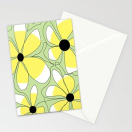 FLOWERY  MIA / ORIGINAL DANISH DESIGN bykazandholly Stationery Cards