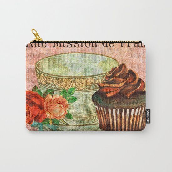 Sweets Vintage Poster 03 Carry-All Pouch