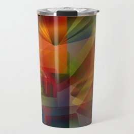 Alluvial Rays Travel Mug