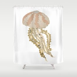 Jelly Paper #2 Shower Curtain