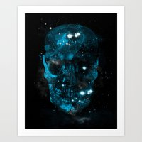 death star Art Prints featuring death star by frederic levy-hadida