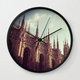 My world: Duomo - Milan Wall Clock
