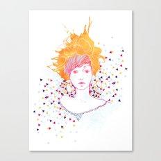 Curlycup Gumweed Canvas Print
