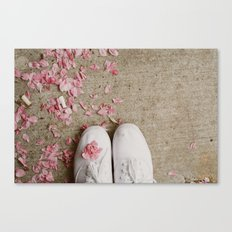 Truckstop Flower Canvas Print