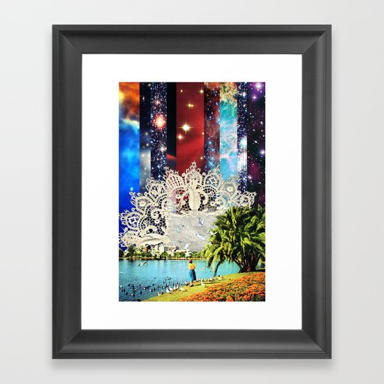 Dandella Framed Art Print