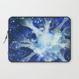 Invisible paths of the Universe. Space Laptop Sleeve