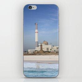 Tel Aviv photo - Reading power station iPhone Skin