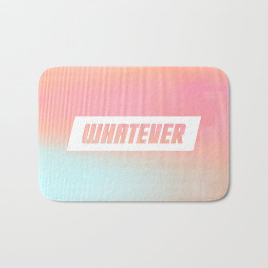 Whatever Bath Mat