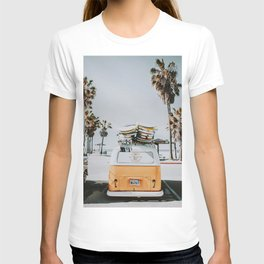 lets surf / venice beach, california T-shirt
