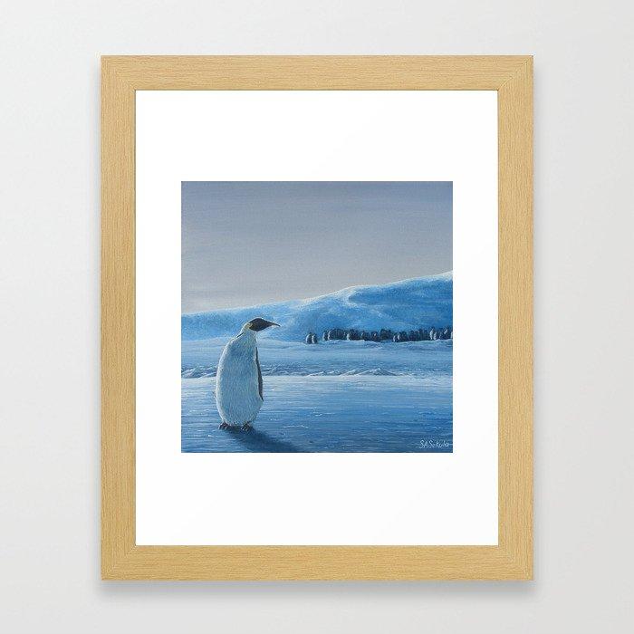 The Outsider Framed Art Print