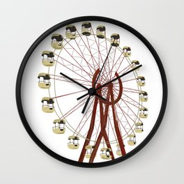 Radiation Land Theme Park Wall Clock