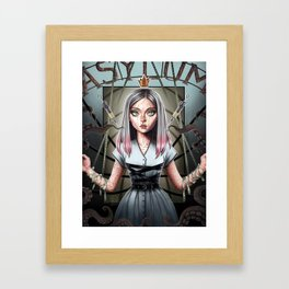 Karolina Syrine of the Grey City Framed Art Print