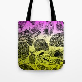 Bones and color Tote Bag