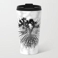 Joshua Tree Lightning by CREYES Metal Travel Mug