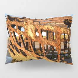 The Wreck of the Peter Iredale Pillow Sham