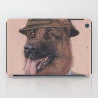 german iPad Cases featuring German Shepherd by Rachel Waterman